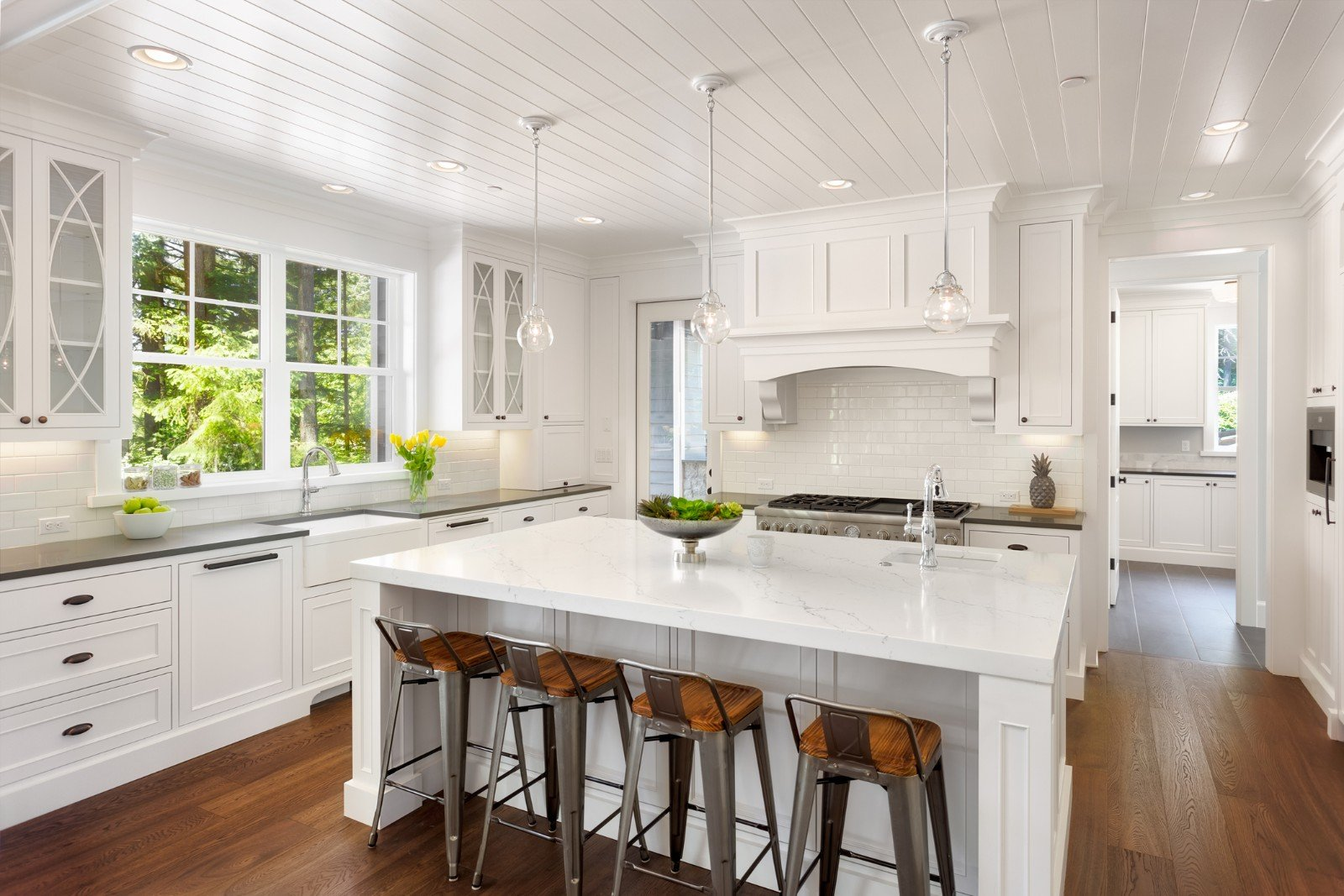 White kitchen interior in Melbourne, FL